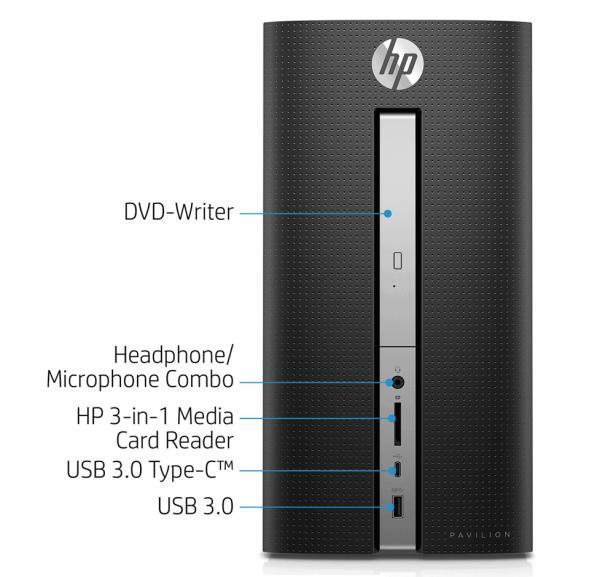Máy tính để bàn/ PC HP Pavilion 570-p087d
