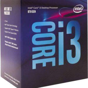 CPU Intel Core i3-8100/ 3.6 GHz/Socket 1151