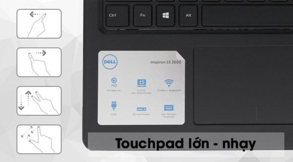 Laptop Dell Inspiron 3576 i3 8130U/4GB/1TB/Win10 (P63F002N76B)