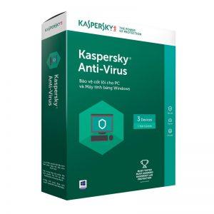 Phần mềm diệt virus Kaspersky Anti Virus (KAV)