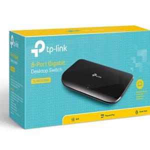 Bộ chia mạng 8 cổng Gigabit TP-Link 10/100/1000 Mbps (TL-SG1008D)