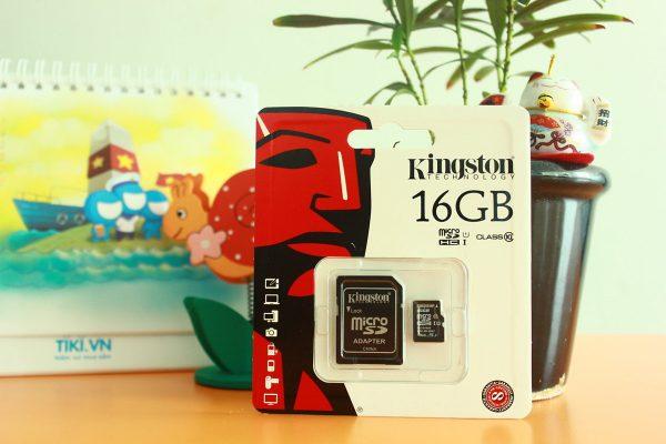 Thẻ nhớ Kingston 16Gb