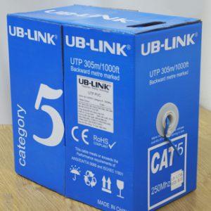 Dây cáp mạng UB-Link Cat5 UTP