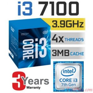 CPU Intel Core i3-7100 3.9 GHz/ Socket 1151
