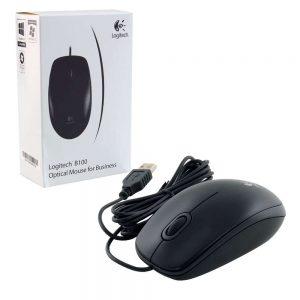 Chuột Logitech USB B100